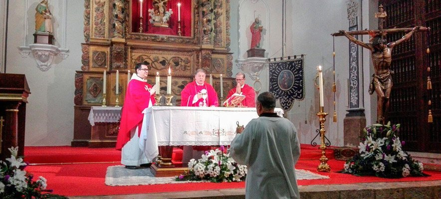 Actos conmemorativos de la bendición del Cristo de las Mercedes