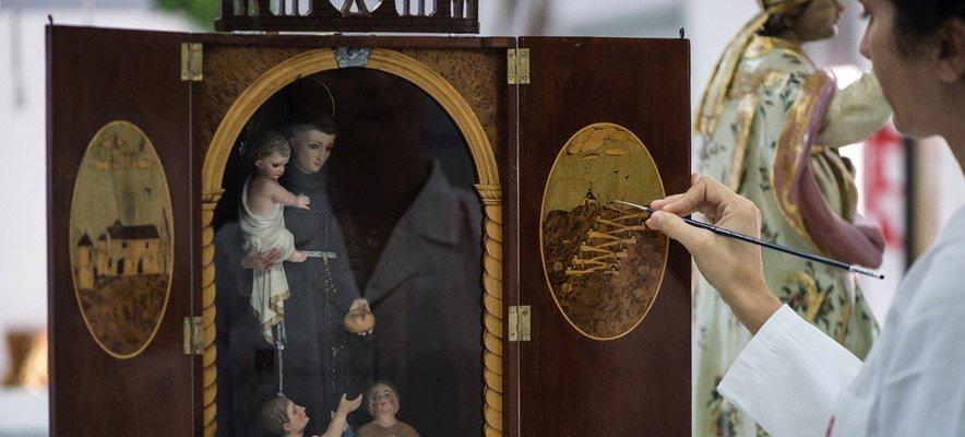 Diputación restaura una capilla portátil de Sot de Ferrer