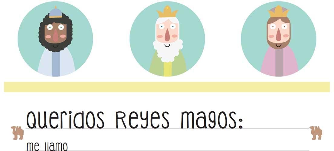 Cartas gratis a los Reyes Magos para los niños de la comarca
