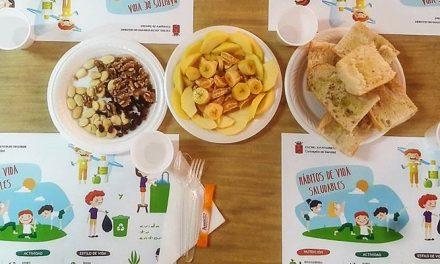 Los colegios segorbinos celebran de nuevo Desayunos Saludables