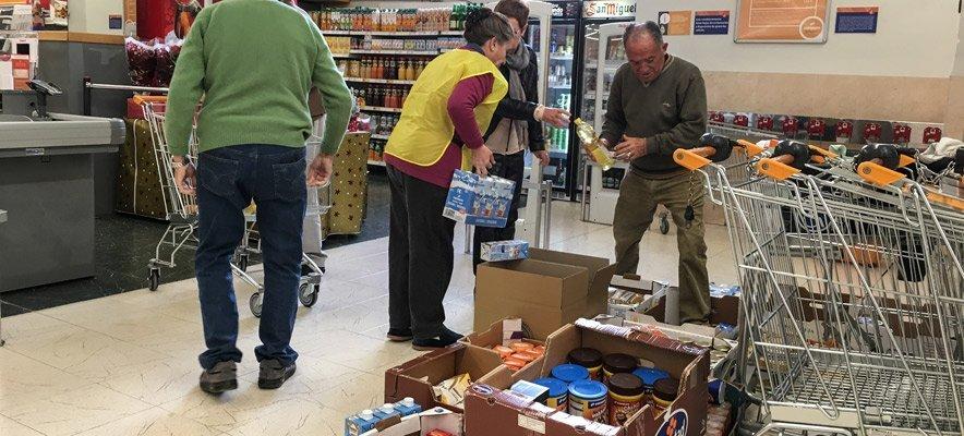 Mercadona rechaza que Cáritas Segorbe recoja alimentos en su local