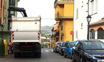 Diputación vota en contra de la subida de basuras
