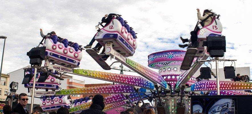 Las atracciones de Feria ofrecen hoy precios reducidos