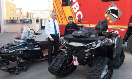 El Consorcio compra vehículos de rescate para los bomberos
