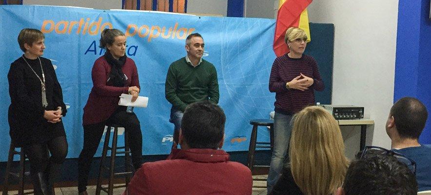 Una mujer, Mª Teresa Máñez, lidera por primera vez el PP de Altura