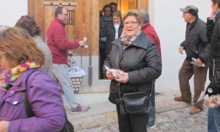 Segorbe celebra San Antón con la bendición del pan