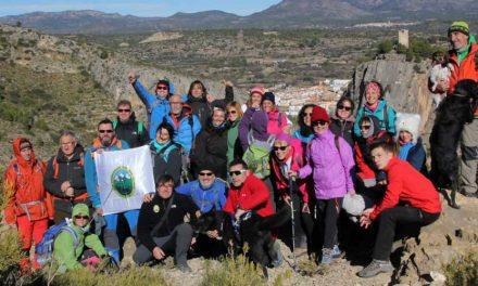 Intenso mes de febrero para el Club Excursionista del Alto Palancia