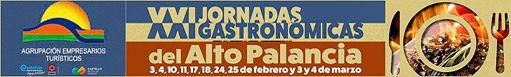 JORNADAS GASTRONOMICAS ALTO PALANCIA 2018
