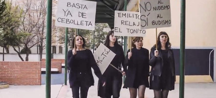 Un elenco de artistas segorbinos graba un corto en el Pintor Camarón