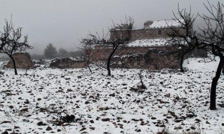 La nieve en Barracas obliga a circular con precaución