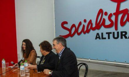 Desembarco de dirigentes socialistas en Altura
