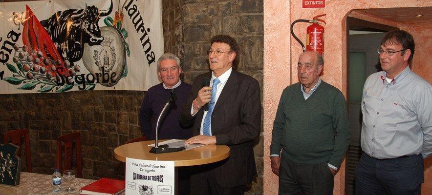 La Peña Cultural Taurina de Segorbe recibe mañana un premio en Madrid