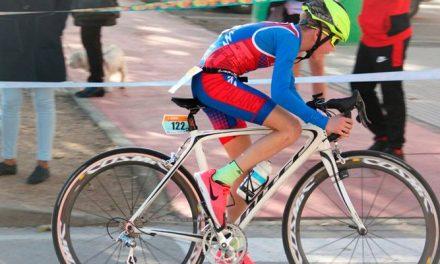 Febrero triatleta en el Palancia