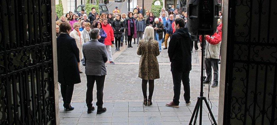 Ayuntamientos de la comarca leen manifiestos en favor de la igualdad