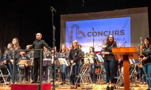 La Banda Juvenil de Altura obtiene el primer premio en Moncada