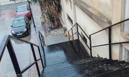 © Abren una escalera de emergencia en el Centro Cultural de Segorbe
