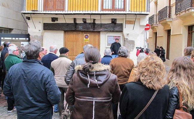 """Segorbe coloca dos paneles de """"Mandas"""" en la plaza del Almudín"""