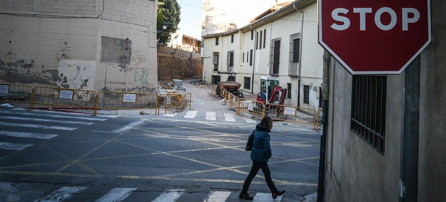 CMG Agua y Energía abandona las obras de la calle Gimeno Agius
