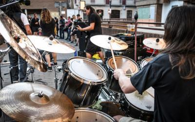 Dos grupos del Palancia actúan en el festival Trincheras Rock de Sarrión