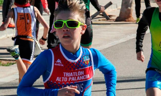 Siguen las competiciones para los miembros del Club Triatlón Alto Palancia
