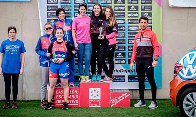 © Marzo acaba con nuevos triunfos triatletas para el Alto Palancia