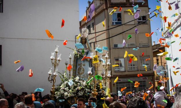 Segorbe celebra «El Encuentro» con la procesión de Las Aleluyas