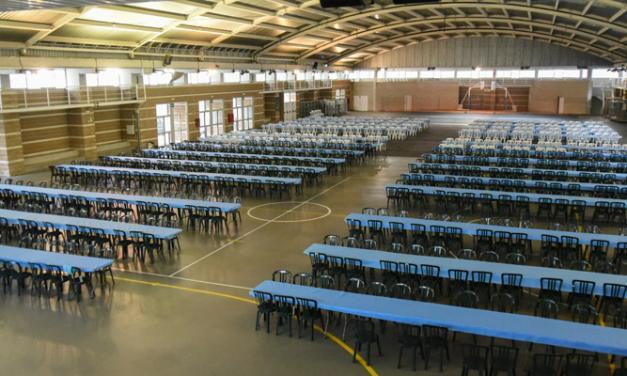 Todo preparado para el Encuentro de Bolilleras de Segorbe
