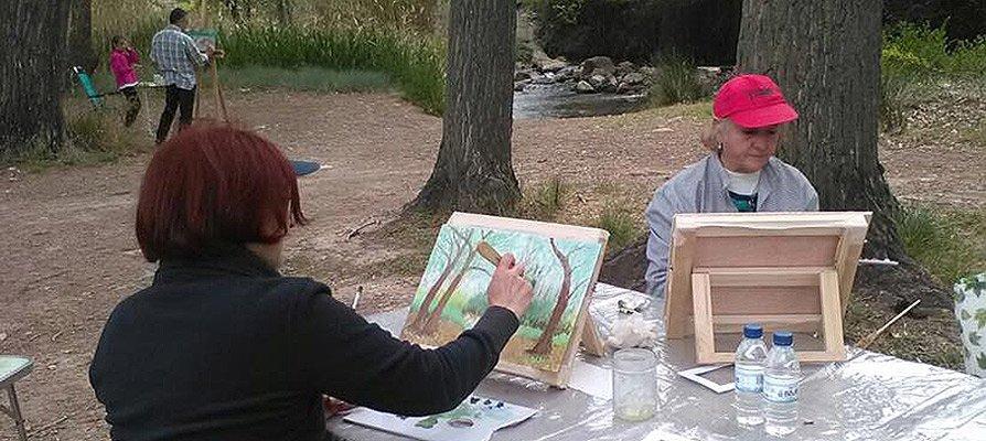 Finalizan los talleres de pintura de la Fundación Bancaja
