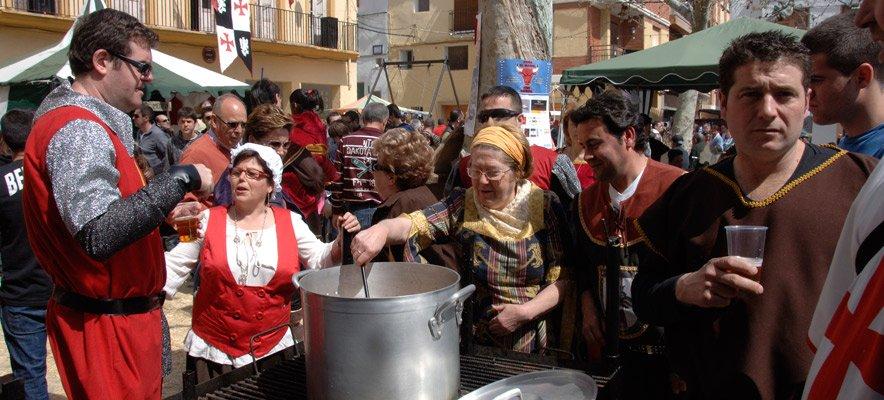 © Gaibiel celebra la X Feria Medieval