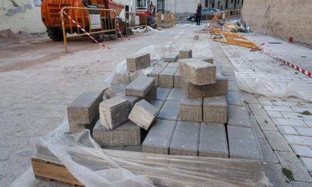 Reanudan las obras de la calle José Gimeno Agius