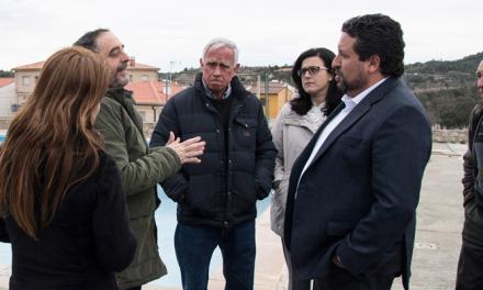 © Diputación adecua la piscina de Villanueva de Viver