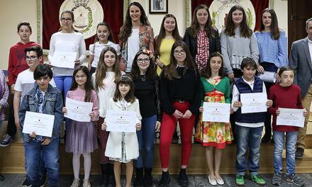 Entrega de premios del Certamen Literario Comarcal
