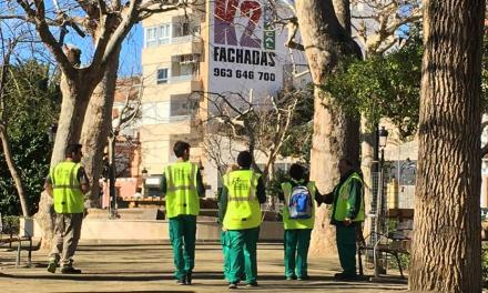 Concluyen los trabajos de limpieza del Argén y la Escuela de Ocupación