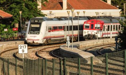 Reducen el tiempo de los viajes en trenes de cercanías