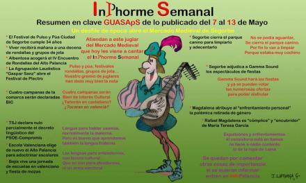 InPhorme semanal del 7 al 13 de mayo