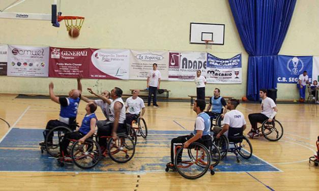 CB Segorbe promueve un partido exhibición en silla de ruedas