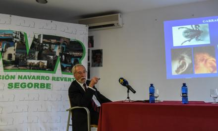Exitosa charla de Benjamín Solsona en la Sala Navarro Reverter