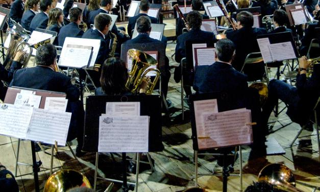 Los músicos de la comarca acudieron a la cita del Mestalla