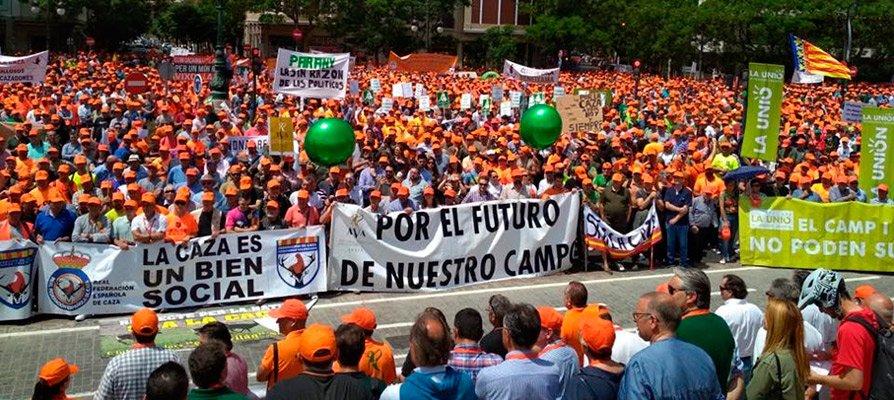 La comarca acude a la Manifestación en defensa del Mundo Rural