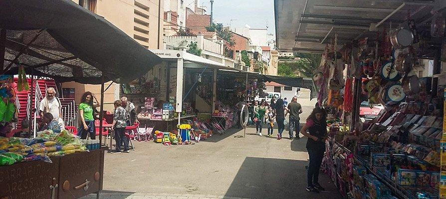 Los vecinos de Jérica celebran la Feria de la Vallada