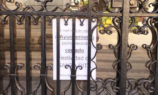 Ayuntamientos y CEDES cierran por Santa Rita