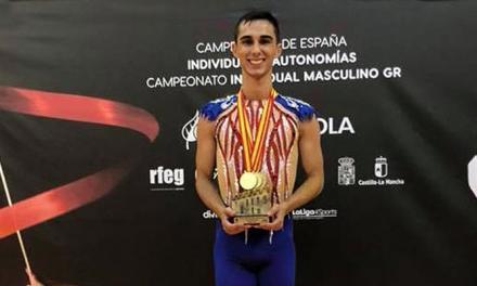 Álvaro Pradas Salvador, Campeón Absoluto Nacional de Gimnasia Rítmica