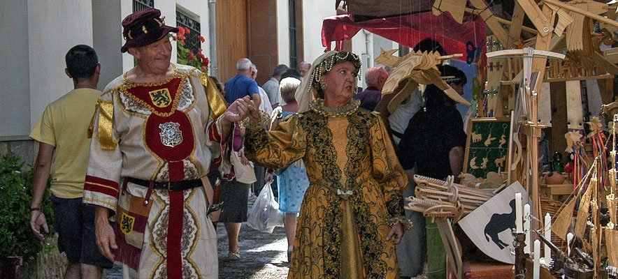La  Feria Medieval de Jérica comienza esta noche