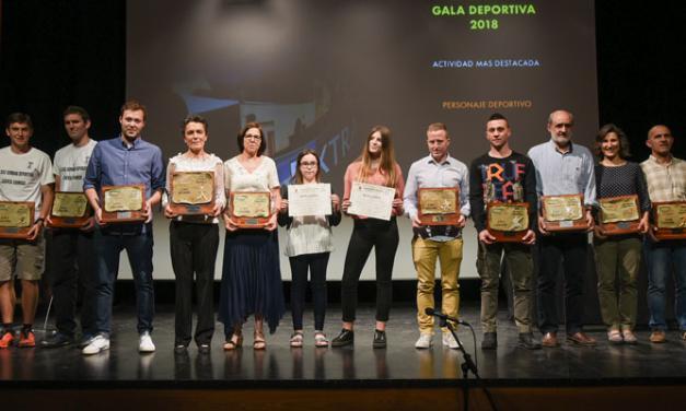 Isabel Pérez y Cincuenta de Cien son destacados en la Gala del Deporte