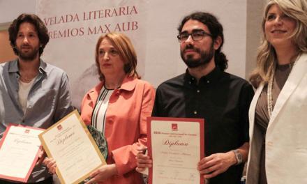 Escudero y Bou recogieron anoche los premios Max Aub