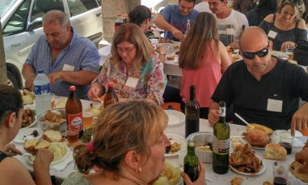 Más de 150 comensales se dan cita en las I Jornadas de la Cebolla
