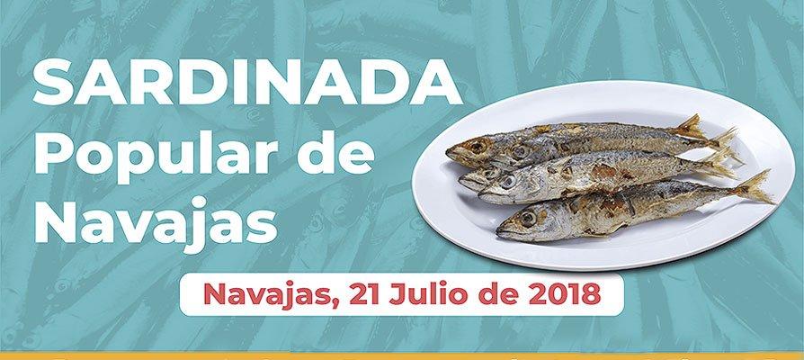 Navajas celebra una sardinada popular en julio