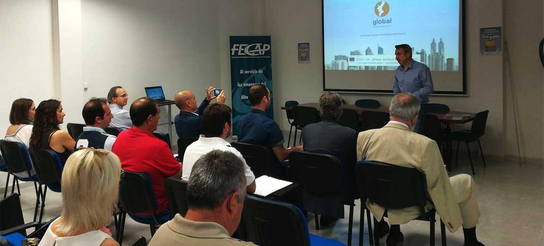 FECAP celebra una jornada sobre «Comenca a Exportar»