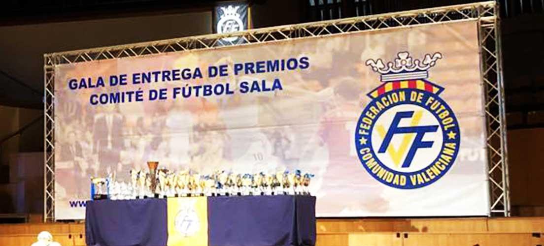 El cadete e infantil del CDFS recogen los premios de la Federación