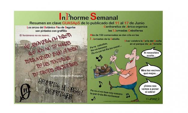 InPhorme Semanal del 11 al 17 de junio